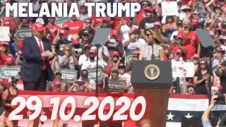 [VOSTFR] Melania Trump : «Nous sommes un pays d'espoir, pas de peur ou de faiblesse», le 29.10.2020