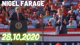 [VOSTFR] Nigel Farage Discours au meeting #MAGA de Trump en Arizona, le 28.10.2020.