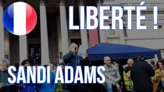 [VOSTFR] Sandi Adams #Agenda21 #Agenda2030 #GrandReset 'Sauvons nos droits' Londres 26.09.2020 [CENSURÉ]