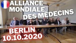 [VOSTFR] Une meilleure normalité Pas une nouvelle normalité World Doctors Alliance Berlin 10.10.2020 [CENSURÉ]