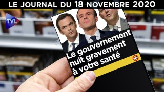 Confinés, ruinés et déprimés, merci Macron – JT du mercredi 18 novembre 2020