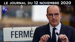 Covid-19 : Jean Castex, le coup de grâce ? – JT du jeudi 12 novembre 2020