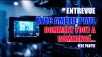 ENTREVUE AVEC AMÉLIE PAUL; PARTIE 1 (COMMENT TOUT A COMMENCÉ?)