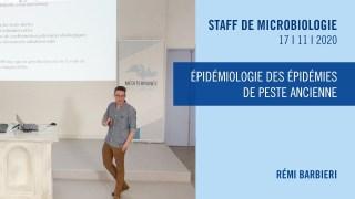 Épidémiologie des épidémies de peste ancienne
