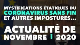 Francis Cousin : Mystifications étatiques du coronavirus sans fin et autres impostures…