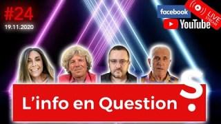 Info en Questions #24 – LIVE