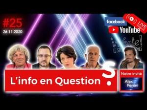 [CENSURÉ] Info en Questions #25 – LIVE