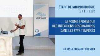 La forme épidémique des infections respiratoires dans les pays tempérés