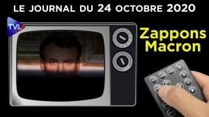 Macron et les nouvelles mesures (toujours liberticides) – JT du mardi 24 novembre 2020