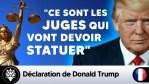 """Trump : """"Ce sont les juges qui vont devoir statuer"""" #MailFraud"""