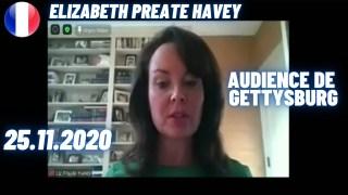 [VOSTFR] Audience Intégrité Électorale, Elizabeth Preate Havey, Pennsylvanie, 25.11.2020