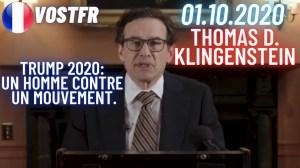 [VOSTFR] Trump 2020: Un homme contre un mouvement. Discours historique de Thomas D. Klingenstein.