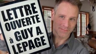 BERNARD LACHANCE – LETTRE À GUY A. LEPAGE