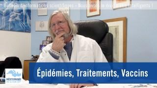Épidémies, Traitements, Vaccins