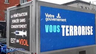 ActuQc : QU'IMPORTE LE TEMPS, LES QUÉBÉCOIS PROTESTENT