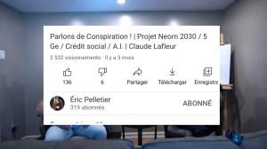 Entrevue avec Éric Pelletier (25 septembre 2020): Projet Noem, Crédit Social et plus… EN IMAGES!