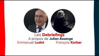 "Julian Assange : Me Ludot et F.Korber, de l'association ""Robin des Lois"""