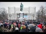 Manifestions pro-Navalny, le samedi de l'échec. 23.01.2021.