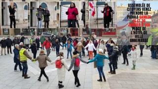 Rassemblement citoyen à Annemasse pour la LIBERTÉ – 16.01.21