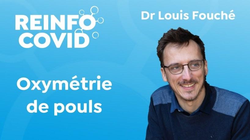 Oxymétrie de pouls, avec Louis Fouché