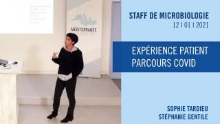 Expérience patient – Parcours COVID