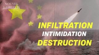 La Chine est prête pour l'affrontement ; Les étudiants dans la détresse