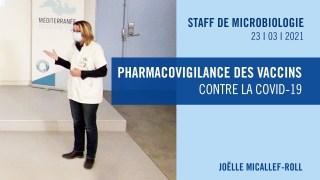Pharmacovigilance des vaccins contre la COVID-19