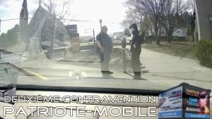 ActuQc : La Patriote-Mobile a eu sa Deuxième Contravention (Parcomètre)