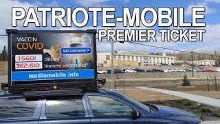ActuQc : La Patriote-Mobile a eu son premier Ticket à Chibougamau