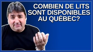 Combien de lits sont disponible pour les hospitalisations et les soins intensif au Québec ?