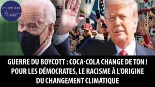Face au boycott, Coca-cola change de ton ; le racisme à l'origine du changement climatique