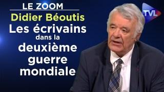 Les écrivains dans la deuxième guerre mondiale – Le Zoom – Didier Béoutis – TVL