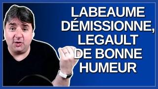 Labeaume démissionne, Legault de bonne humeur.
