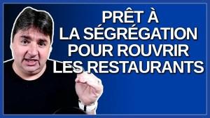 Peter Sergakis prêt à la ségrégation pour rouvrir les restaurants.