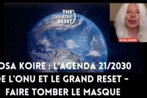 Rosa Koire : L'Agenda 21/2030 de l'ONU et le Grand Reset – Faire tomber le masque