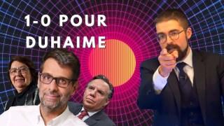 1-0 pour Duhaime [EN DIRECT]