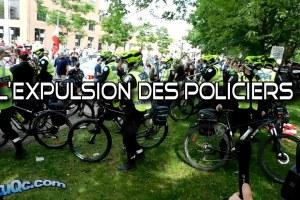 ActuQc : 5 Juin 2021 – L'expulsion des policiers