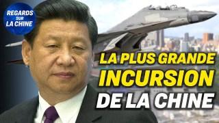 Des avions militaires chinois dans la zone de Taïwan ; Des porte-avions américains en mer de Chine