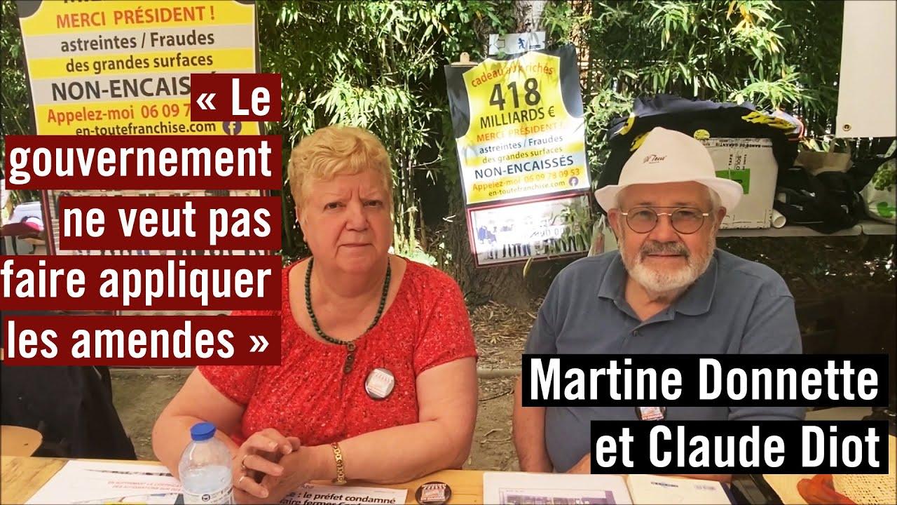 Interview de Martine Donnette & Claude Diot et la fraude des 418 milliards €