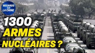 La Chine prévoit de produire 1 300 armes nucléaires ; La lettre ouverte des mères de Tian'anmen