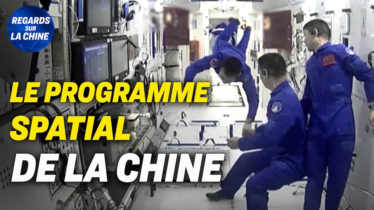 Les ambitions du programme spatial de la Chine ; Des manifestations contre les J.O de Pékin
