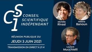 Réunion publique n°8 du Conseil scientifique indépendant (CSI)