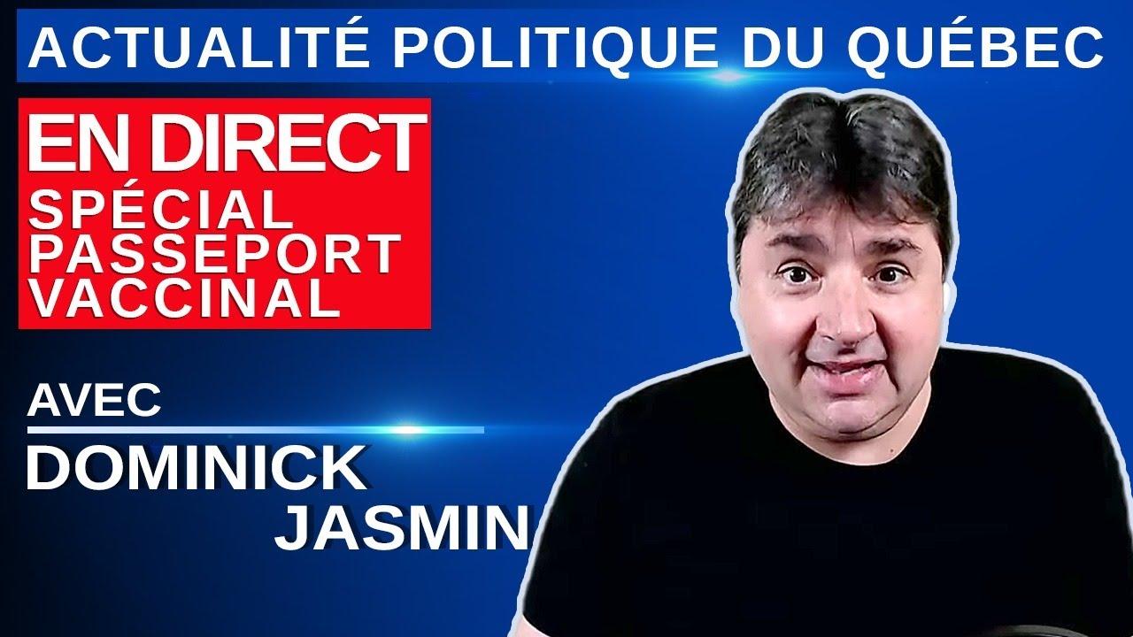 11 juillet 2021 – Actualité Politique Du Québec en Direct