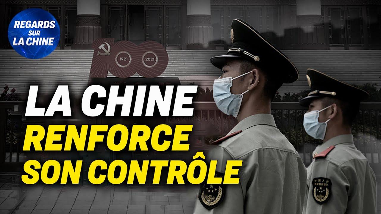 Contrôle de sécurité « sans précédent » à Pékin ; Un homme met le feu devant un bâtiment officiel