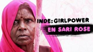 Inde : Girl Power en sari rose