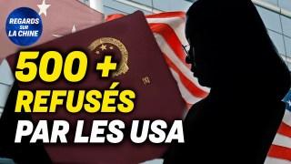 Le visa américain refusé à plus de 500 étudiants chinois; Controverses en Californie au sujet du PCC