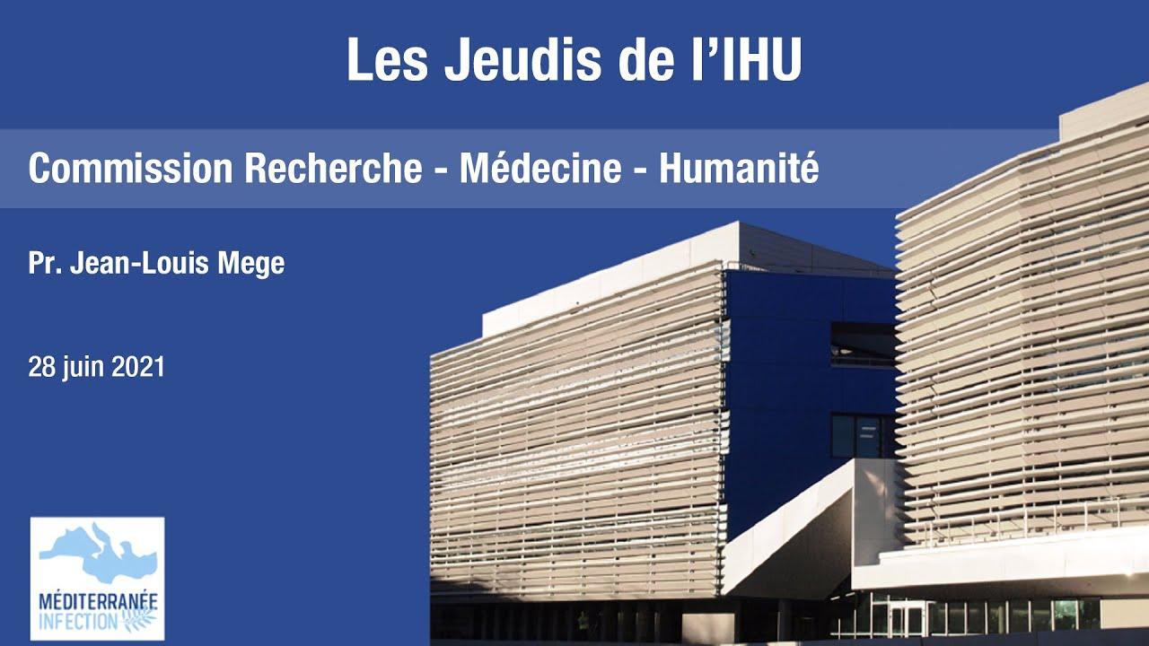 Les Jeudis de l'IHU  – Conflits d'intérêts – Pr. Jean-Louis Mege