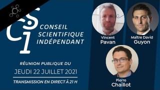 Réunion publique n°15 du CSI (Conseil scientifique indépendant)
