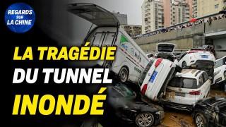 Sortir d'un tunnel inondé : un survivant raconte ; Tensions entre les Etats-unis et la Chine
