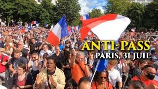 Manifestations Contre le Pass Sanitaire – 31 juillet 2021, Paris